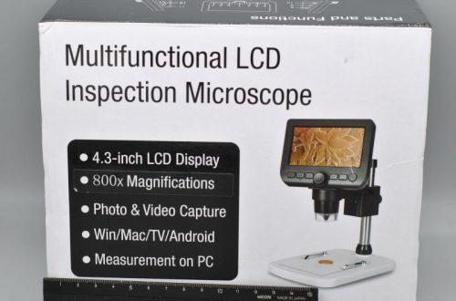 """Микроскоп с экраном 4.3"""" UM046. Якобы 800 крат"""