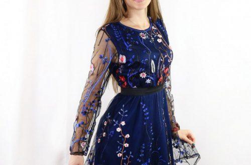 Цветочное летнее платье