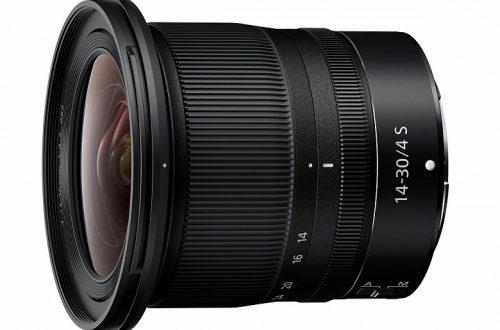 Объектив Nikkor Z 14-30mm F4 S оценен в 1300 долларов