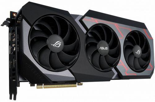 Представлена Asus ROG Matrix GeForce RTX 2080 Ti — видеокарта с необычной системой охлаждения и ценой около 1500 долларов