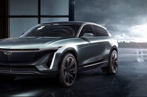 General Motors показала футуристический электрический кроссовер Cadillac, который будет соперничать с Tesla Model X
