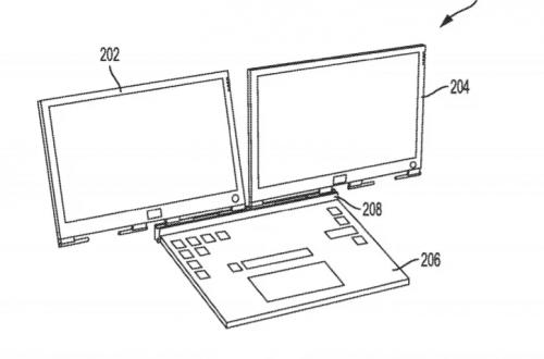 Уникальный ноутбук Dell получит два экрана и совершенно неожиданную конструкцию