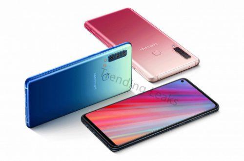 Опубликованы рендеры смартфона Samsung Galaxy A50: тройная камера и экран Infinity-O