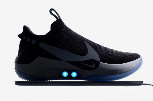 Nike представила самозашнуровывающиеся кроссовки с управлением со смартфона