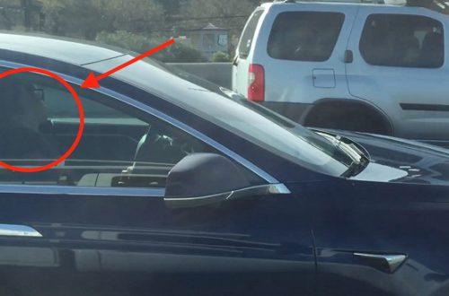 Сила автопилота: водитель Tesla уснул за рулём, пока его машина продолжала двигаться в потоке