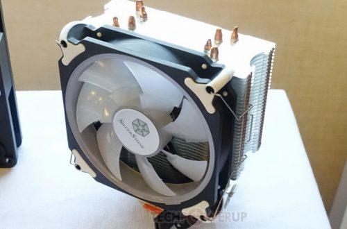 Система охлаждения Silverstone Argon AR12-RGB подходит для процессоров с TDP до 125 Вт