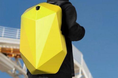 Робот за плечами: рюкзак Xiaomi Mi Bumblebee Computer Backpack напоминает Бамблби – робота из Трансформеров