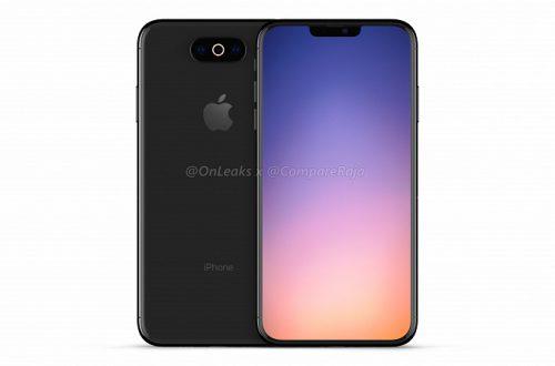 Новые рендеры Apple iPhone XI: вырез вверху экрана сохранен, тройная основная камера ориентирована как в Galaxy S10 – горизонтально