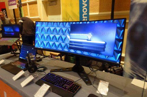 Игровой монитор Lenovo Legion Y44w получил огромную панель с соотношением сторон 32:10