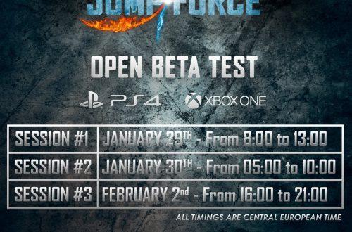Jump Force - Сроки проведения второго этапа ОБТ