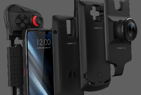 Многофункциональный смартфон Doogee S90 с модулями ночного видения, рации и геймпадом приехал в Россию