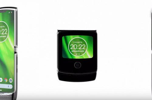 Видео дня: смартфон Moto RAZR 2019 со сгибающимся дисплеем