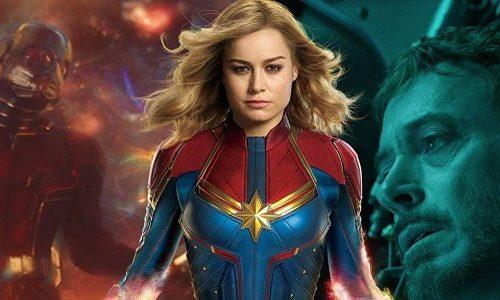 Щелчок Таноса отправил Капитана Марвел назад во времени