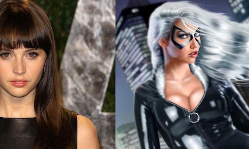 Фелисити Джонс хочет сыграть Черную кошку в фильме Marvel