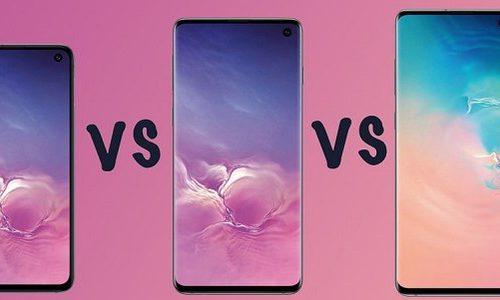 Разница между Samsung Galaxy S10, Galaxy S10 Plus, Galaxy S10e и Galaxy S10 5G