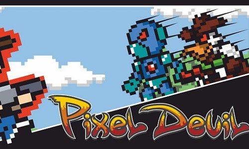Игра Pixel Devil and the Broken Cartridge поступила в продажу