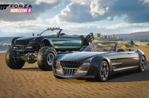 В Forza Horizon 4 появятся автомобили из Final Fantasy XV