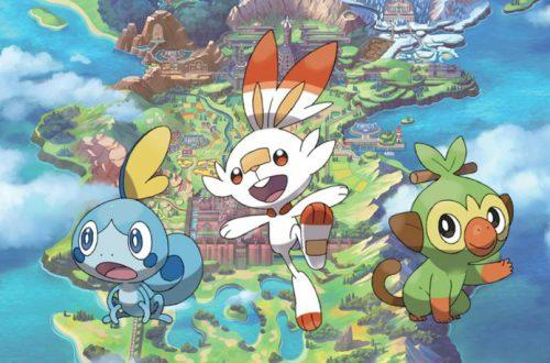 Nintendo анонсировала две новые игры: Pokémon Sword и Pokémon Shield