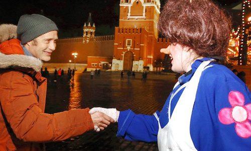 Мадс Миккельсен представил «Затерянных во льдах» в Москве