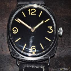 Очередная переделка карманных часов Молния в корпусе PAM
