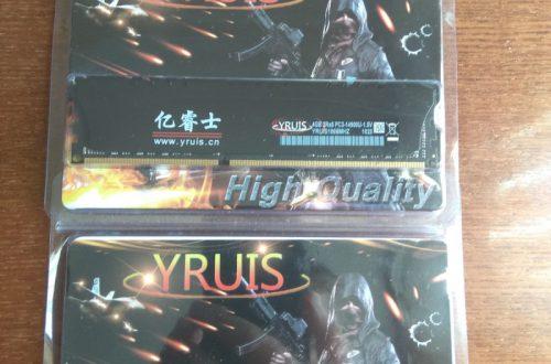 Модули памяти DDR3 4G 1866 бренда YRUIS