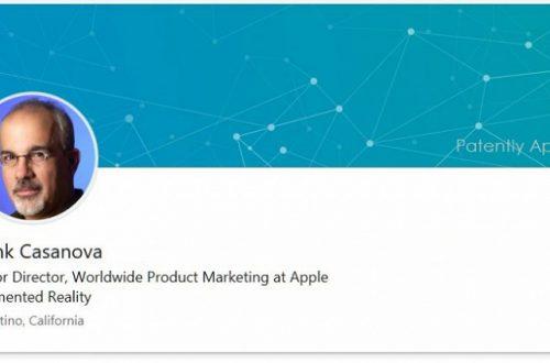 Фрэнк Казанова будет продвигать продукцию Apple на рынке дополненной реальности