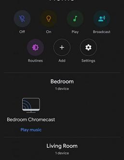 Демонстрация ночного режима Dark Mode в Android 10 Q