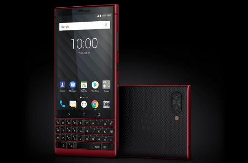 Почти 800 евро за смартфон с маленьким экраном, SoC Snapdragon 660 и Android 8. Представлен BlackBerry KEY2 Red Edition