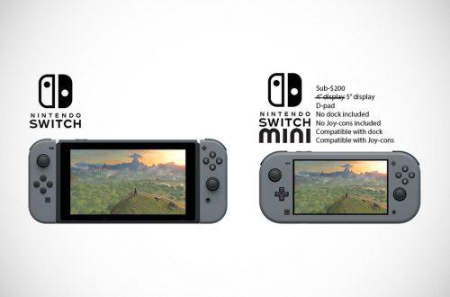 Слухи: Nintendo собирается выпустить «более портативную» версию Switch