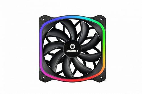 Вентилятор Enermax SquA RGB имеет необычную подсветку