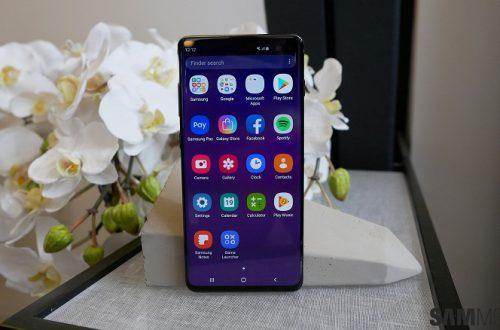 У ненавистников Bixby праздник. Флагманский смартфон Samsung Galaxy S10+ получил первое обновление