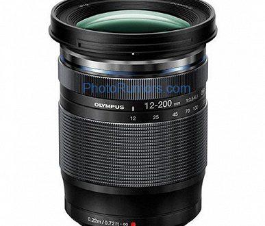 На следующей неделе ожидается анонс объектива Olympus M.Zuiko Digital ED 12-200mm f/3.5-6.3