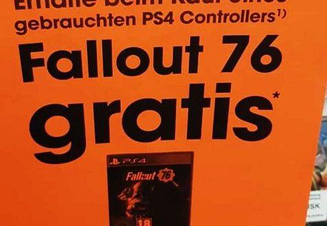 Fallout 76 — Игру можно получить в нагрузку к б/у геймпаду