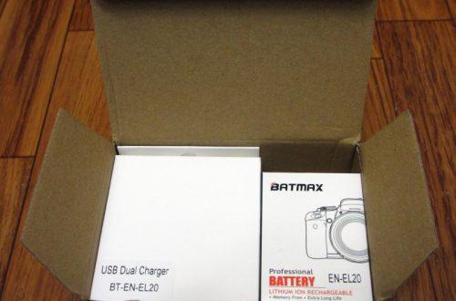 """Китайские аккумуляторы Nikon EN-EL20 """"1200mAh"""" и сдвоенно зарядное устройство для них"""