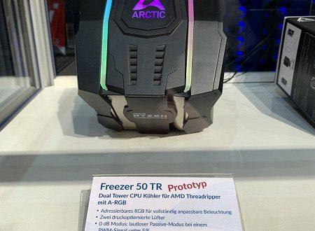 Кулер Arctic Freezer 50 TR сможет работать с процессорами Ryzen Threadripper в пассивном режиме