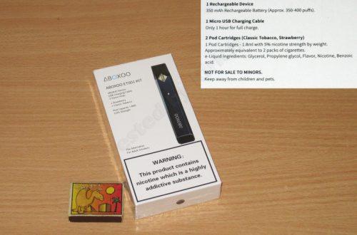 Электронная сигарета ABOXOO ET001