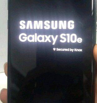 Врезанная в экран фронтальная камера – как бельмо на глазу: опубликованы живые фото смартфона Samsung Galaxy S10e
