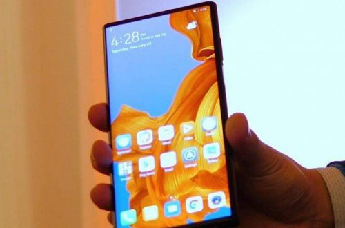 Во всех ракурсах. Живые фото настоящего складного смартфона Huawei Mate X с гибким дисплеем за несколько часов до анонса