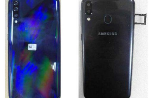 Живые фото показали пять камер Samsung Galaxy A50 и Galaxy A30
