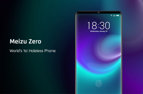 Предзаказ на революционный смартфон без кнопок и отверстий Meizu Zero оформили 29... человек