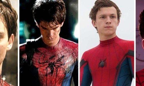 Все логотипы Человека-паука вплоть до «Вдали от дома»