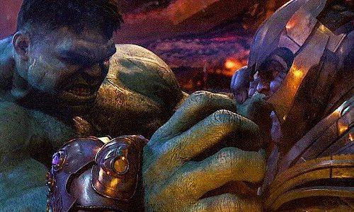 Спойлер: Халк сразится с Таносом в «Мстителях: Финал»