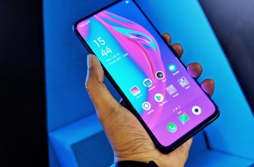 «Живые» фото смартфона Oppo F11 Pro демонстрируют выдвижную камеру и безрамочный экран