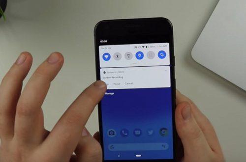 В Android 10 обнаружили функцию Screen Recording