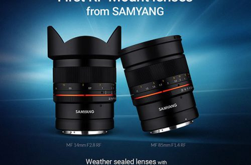 Первыми объективами Samyang с креплением Canon RF станут модели MF 14mm F2.8 RF & MF 85mm F1.4 RF