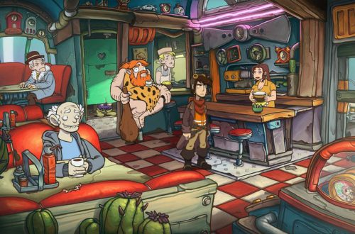 Забавная адвенчура Deponia Doomsday вышла на PlayStation 4