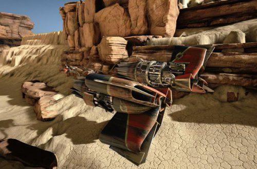 Энтузиаст воссоздал Star Wars Episode I: Racer на Unreal Engine 4