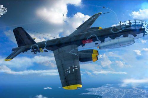 World of Warplanes: в игре появились 4 новых немецких бомбардировщика