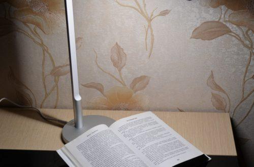 Настольная лампа J.XUAN с Г-образным дизайном и Qi Wireless зарядкой