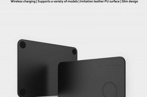 Коврик с встроенной беспроводной зарядкой. Xiaomi miiiw wireless charging mouse pad. Цена 23.9$